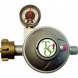 Redutor de gás  c/válvula seg.E manómetro tgo 30mb 0,8kg/h