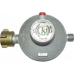 Redutor de gás c/válvula seg. TGO 30mb 1,2kg/h