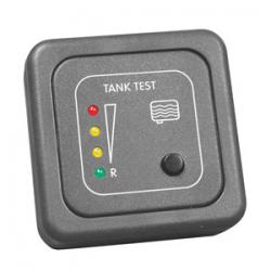 Painel control cinza e sonda nível águas sujas